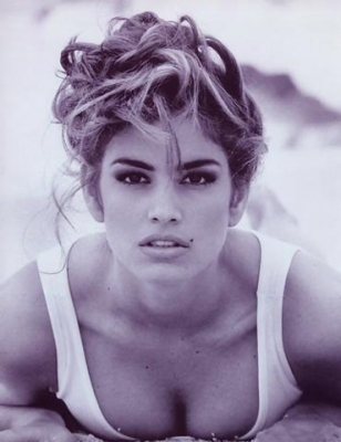 A true American beauty, Cindy Crawford managed to become a sex symbol and an inspiration for many women. Her natural beauty, style and above the lip beauty mark made Cindy one of the most famous supermodels of all times. <br />