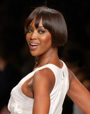 Naomi is probably one of the most famous supermodels of all times as her beauty and gorgeous body are seemingly without a match. Even though near 40 years old, she still manages to make a sensation on the catwalk.