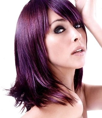 Purple Hair Color Trend