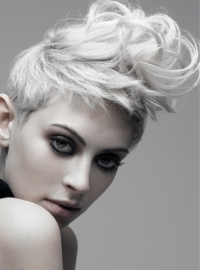 Textured Short Hair Styles