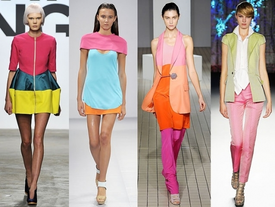 TOTALLY into this season's NEON colors!
