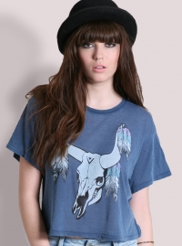 Crop Tees Grunge Fashion Trend for Summer