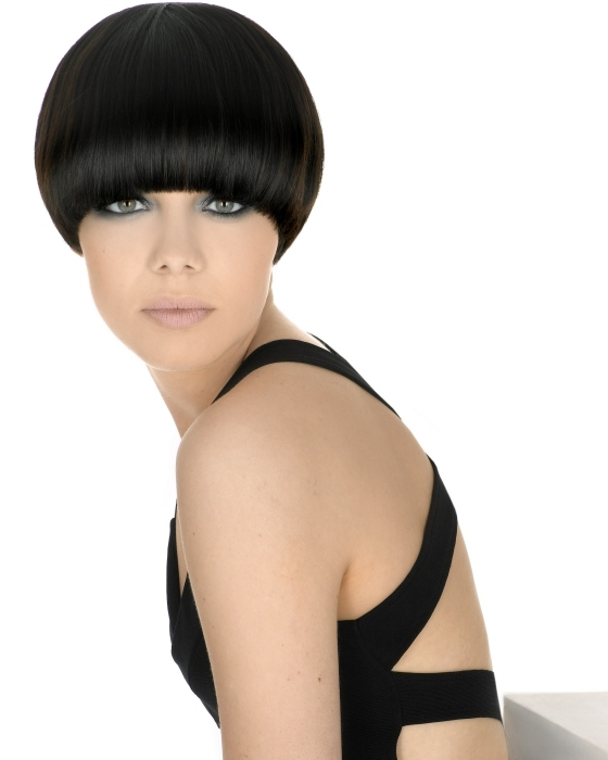 Short hairstyles fall into two categories, bold geometric crops and layered,