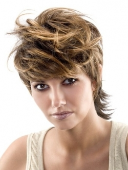 hair color ideas for short haircuts