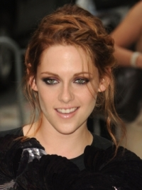 How to Get Kristen Stewart's Braided Updo Hairstyle