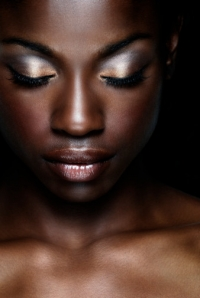 Make Dark Skin Glow with Makeup