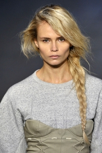 Runway Braided Hairstyles Trends