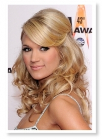 Celebrity Half Up Half Down Hairstyles