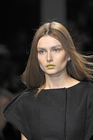 The new cool runway makeup