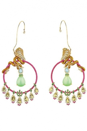 Dior Bollywood earrings