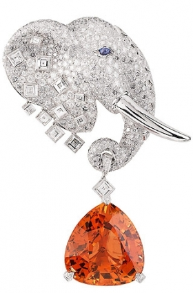 Van Cleef& Arples elephant clip