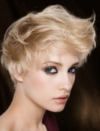 Flirty Short Hair Styles