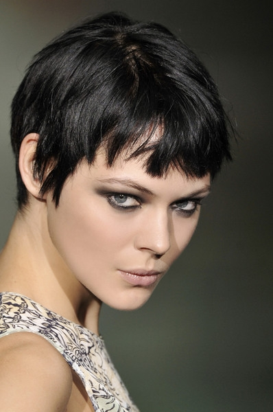 hairstyles 2011 for women short hair. The layered short bob is the