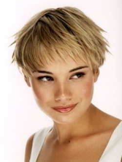 malaysian curly hairstyles : Low Maintenance Short Hairstyles