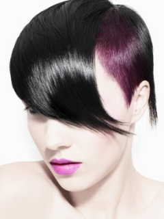 Two Tone Emo Hair Color Ideas