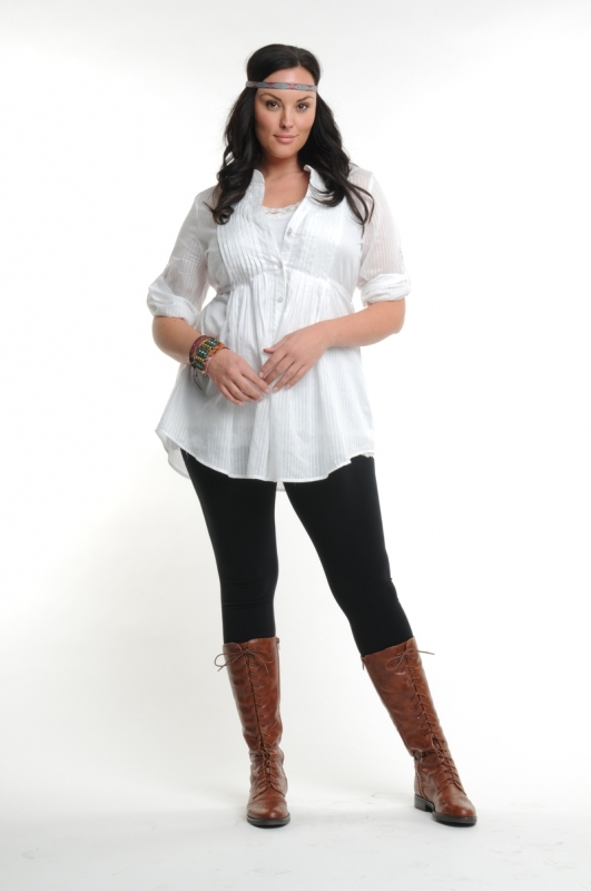 Plus Size Fall 2010 Fashion Trends
