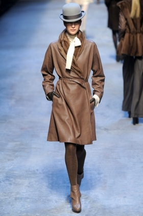 Hermes trench fall 2010