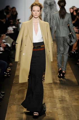 Michael Kors trench fall 2010