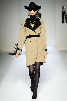Moschino trench fall 2010
