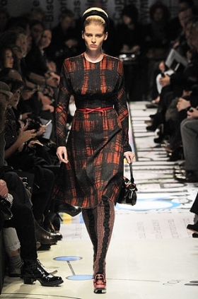 Prada dress 2010 fall