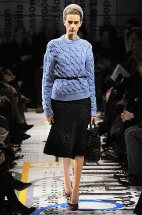 Prada knitted sweater fall 2010