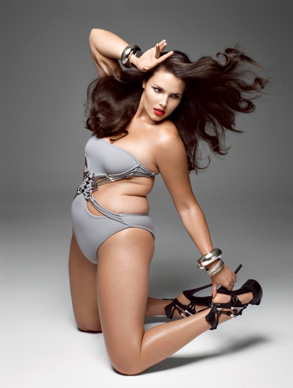 Candice Huffine Plus Size Model