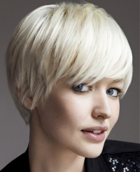 Girly Crop Short Hair Styles