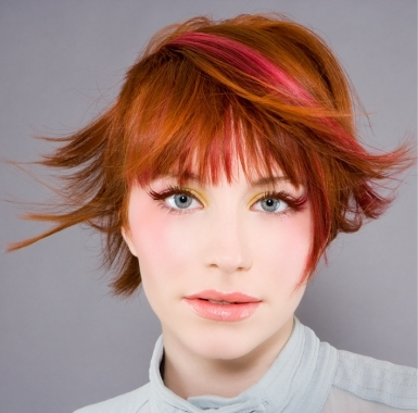 red hair highlights. Multi-Toned Red Hair Color