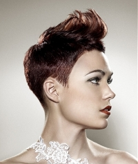 Semi Short Hair Style Ideas