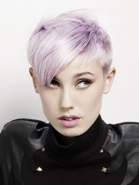 short punk inspired hairstyle