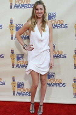 Whitney Port White Dress