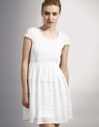White Dress Summer Trend 2010