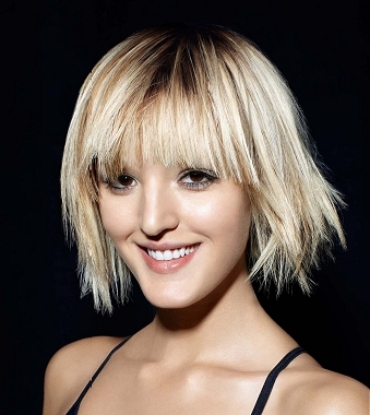 hair with dark roots and light ends. Dark Roots Blonde Hair Styles