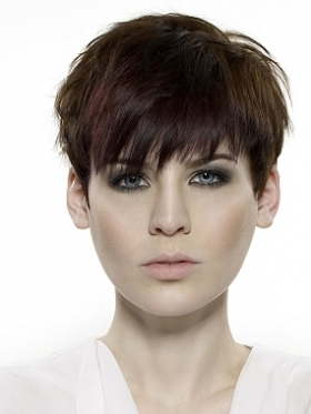 Posh Spice Inspired Short Pixie Haircut