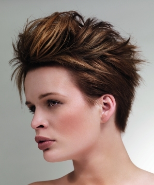 Hairstyles For Short Hair Mohawk : Chic Short Mohawk Hair Styles for Summer