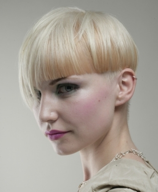 Short Blonde Party Haircuts|