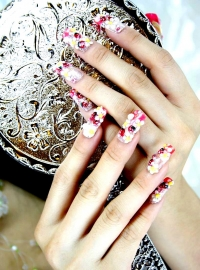 Beach Nail Art Designs