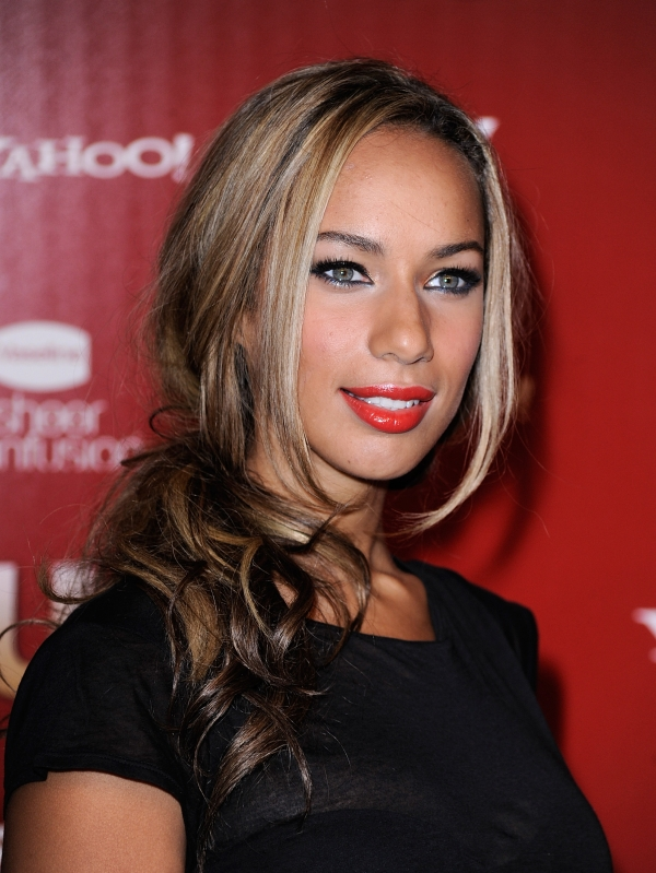 glam hairstyles. Leona Lewis Glam Hair Styles