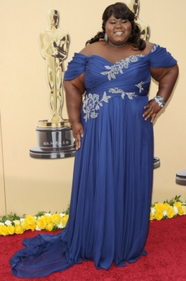 Gabourey Sidibe In Marchesa