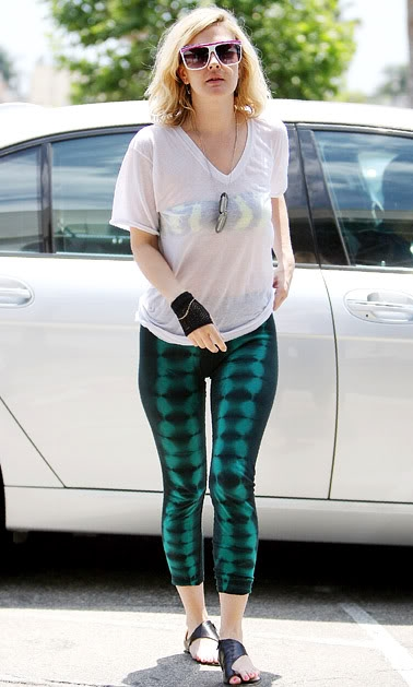 Celebrity Leggings Fashion