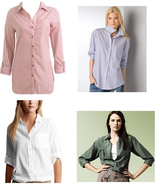 how to wear boyfriend shirt