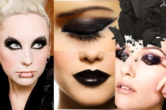 goth style makeup. Read more: How to Do Gothic