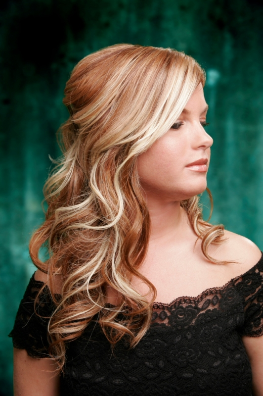 Bleach Blonde Hair With Black Highlights. Bleached halo highlights