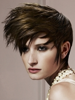 Close Cropped Short Hair Styles