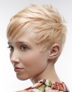 closecropped short hair styles