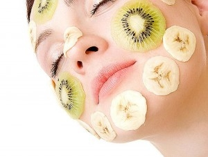 Facial fruit mask think