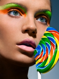 Candy Makeup Look