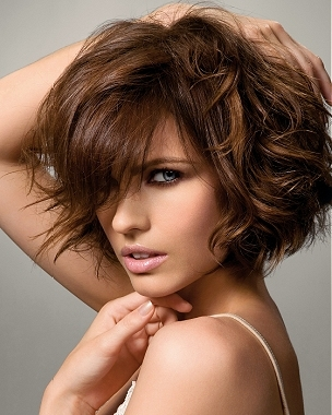 Cuts  Curly Hair on Summer Wavy Bob Hair Styles
