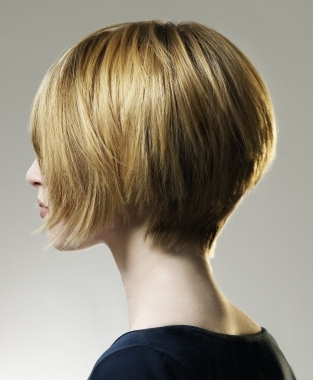 You can style layers as bangs by bringing them forward and ...