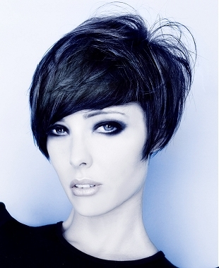 spring hair styles razor cut bob hairstyle textured for a choppy effect 2121